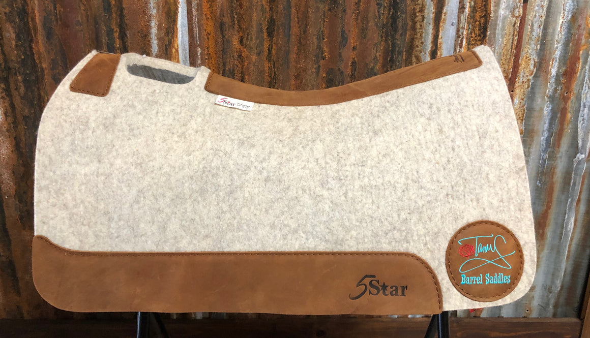 5 Star Saddle Pad Natural