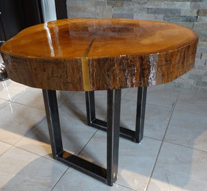 Table artisanale