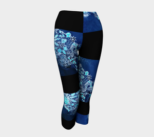 LEGGING CAPRI #10 Bleu Royal 2