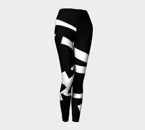 LEGGING # 17 Noir design