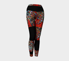 LEGGING SPORT #18 Le Rouge coloré