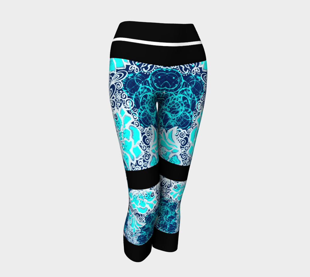 LEGGING CAPRI #2 Bleu Royal