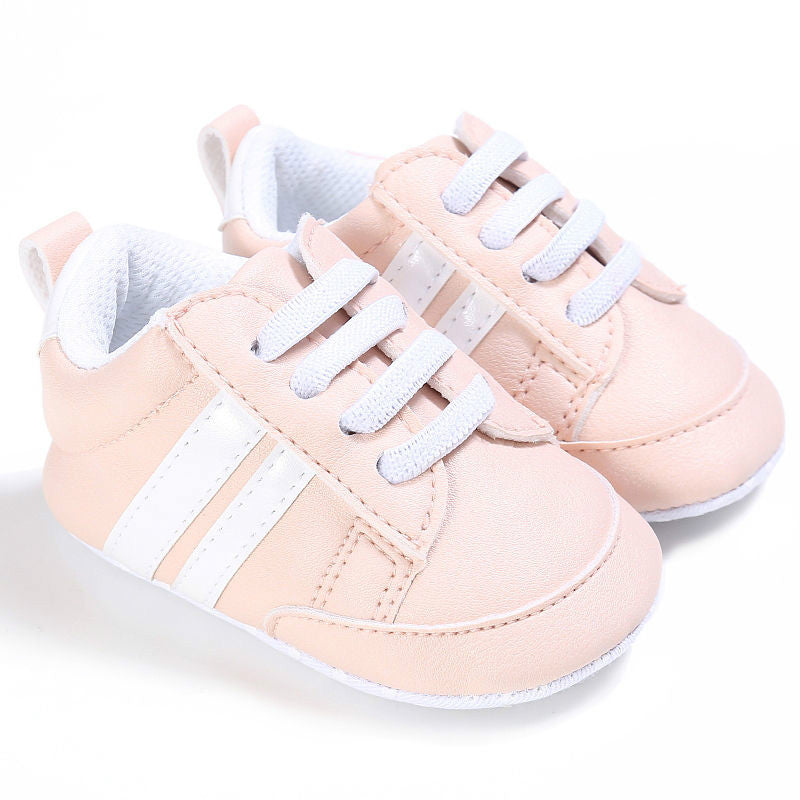 037000c4c 2017 Soft Bottom Fashion Sneakers Baby Boys Girls First Walkers