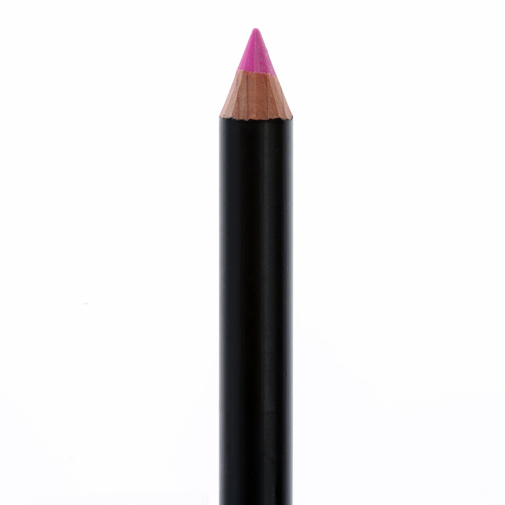 "Matte Black lip pencil, no top, in the shade ""Allure""."