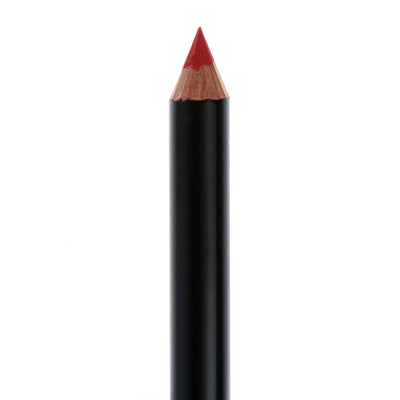 "Matte Black lip pencil, no top, in the shade ""Darling""."