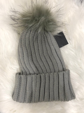 Grey Stocking Hat