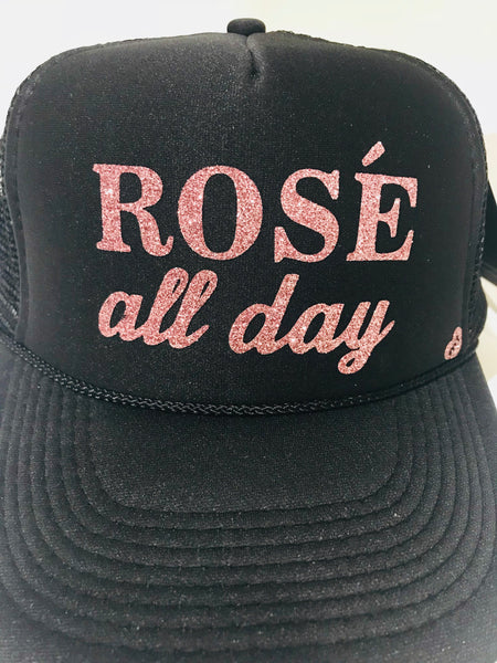 Rose' All Day Trucker Hat