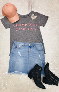 """Champagne Campaign"" Graphic Tee"