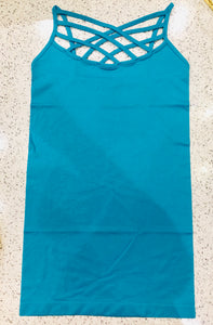 Turquoise Cage Tank