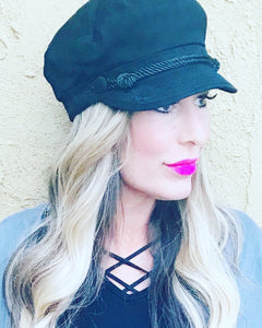 Cotton Fisherman Hat with Lace Detail