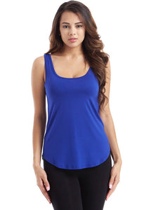 Royal Round Bottom Tank Top