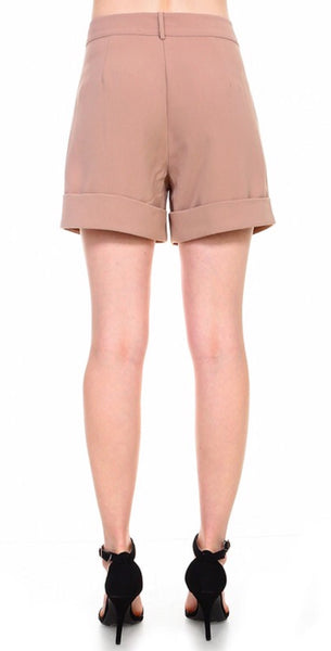 Khaki Dress Shorts