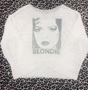 Blondie Burnout Sweatshirt