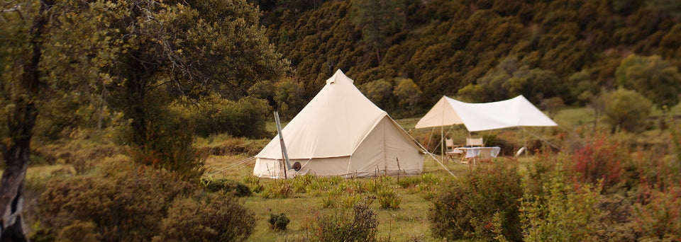 How to clean and re-waterproof a 5m canvas bell tent (only