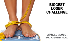 Biggest Loser Challenge Branded Member Engagement Video (Preview Available)