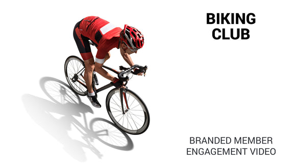 Biking Club Branded Member Engagement Video