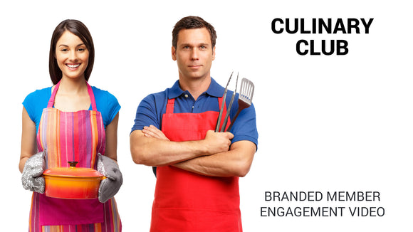 Culinary Club Branded Member Engagement Video