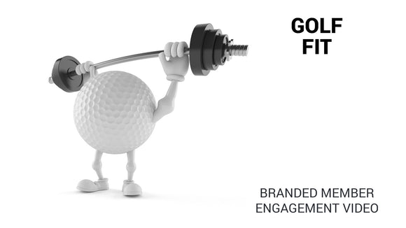 GolfFit Branded Member Engagement Video