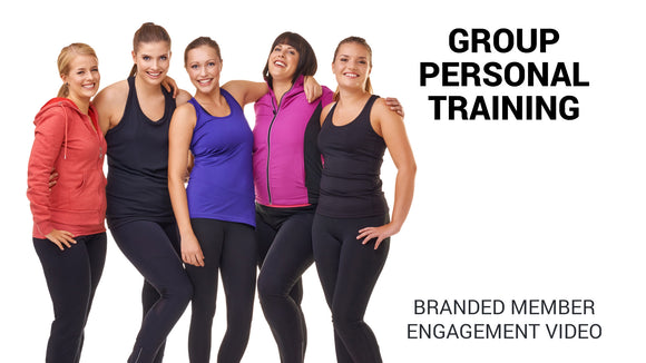 Group Personal Training Branded Member Engagement Video