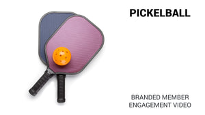 Pickleball Branded Member Engagement Video