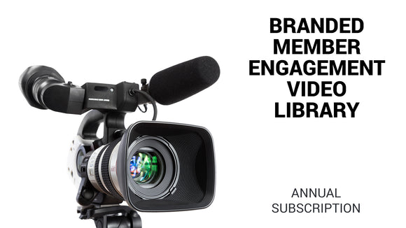 America's Healthiest Clubs Branded Member Engagement Video Library Annual Subscription