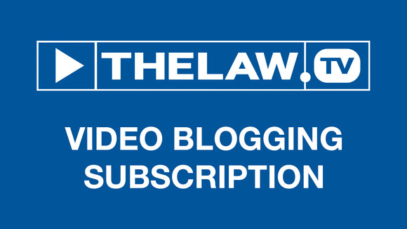 THELAW.TV - Lawyer Video Blogs (Annual Subscription)