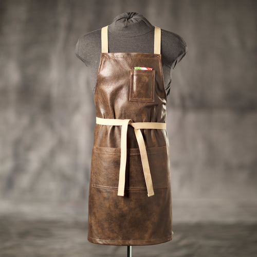 Lahaina Leather Apron for bartenders, gardeners, chefs and more.
