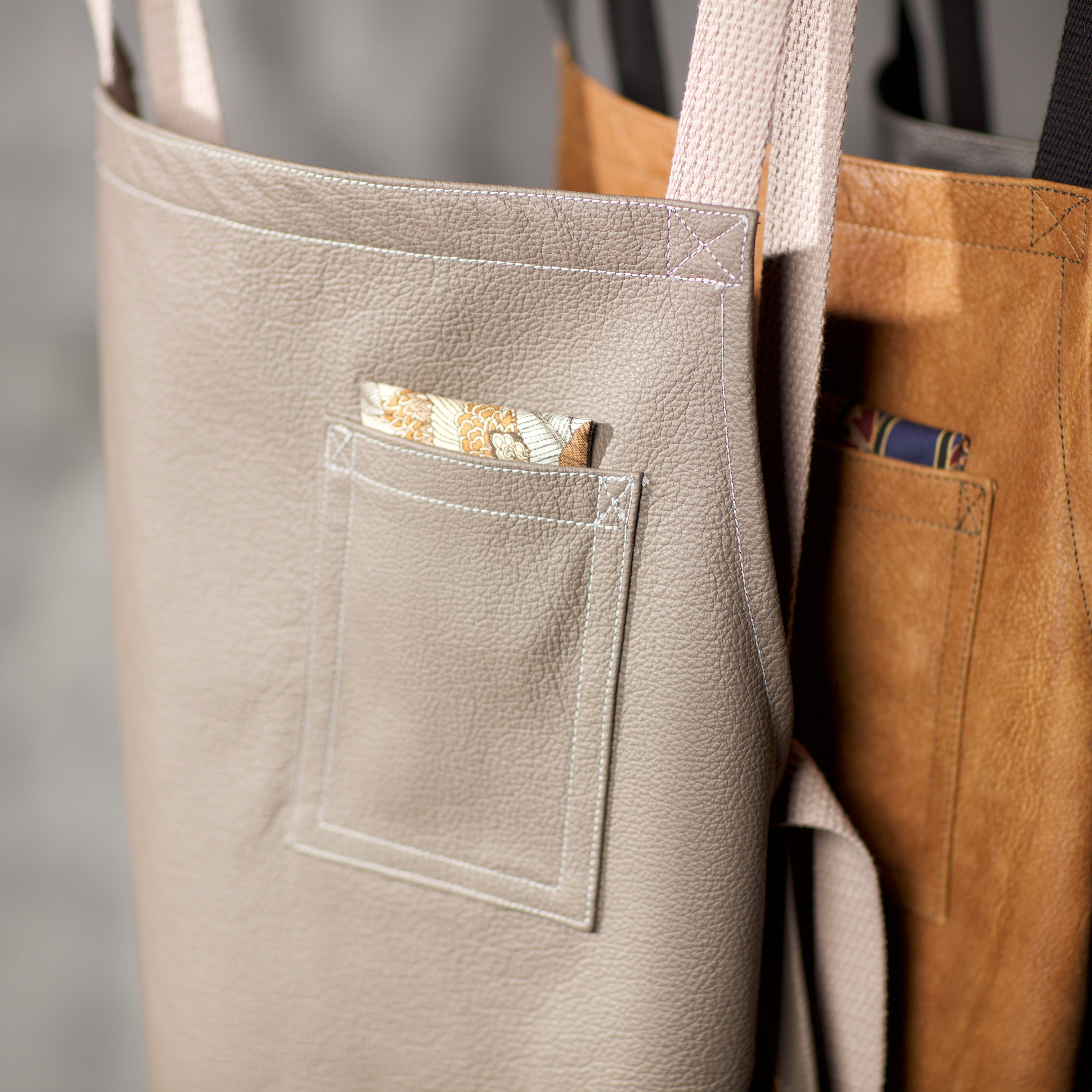 Macau Leather Apron Pocket