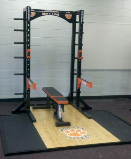 Pro E Cage Power Rack w/ Platform
