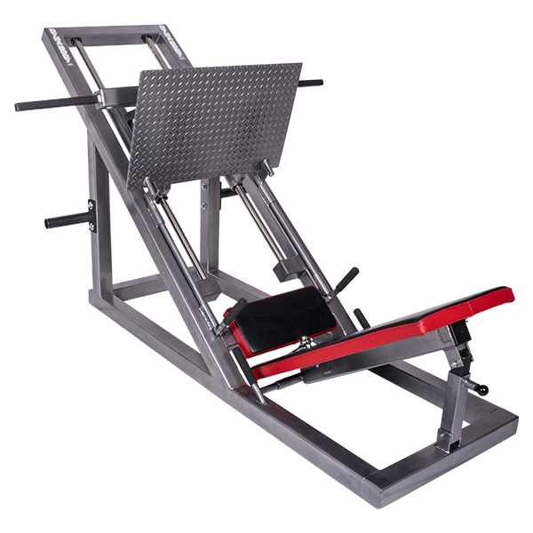 Leg Press w/ Plate Storage by Dynabody