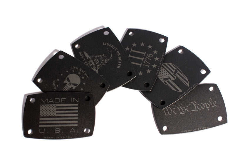 Laser Engraved Mounting Plates (NOT A MAGNET)