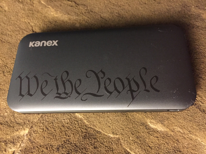 Laser Engraved Battery Pack