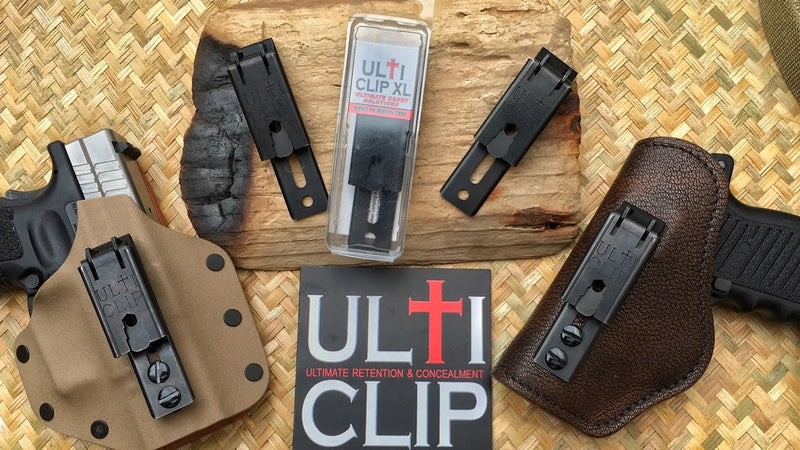 Ulticlip XL ~ IWB / OWB