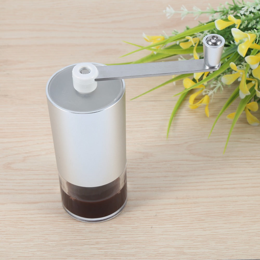 Manual Ceramic Coffee Grinder - Washable Ceramic Core: Mini Manual Coffee Grinding Machine