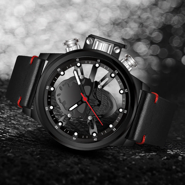Montre tendance pirate homme - DARK-SPIRIT