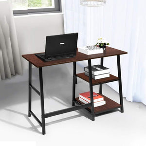 Home Office Desk and Chair (with storage)