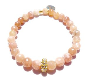 Alex Bracelet - Sunstone / Standard size / Stretch -