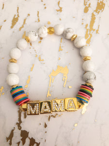 Mama Marble Block Party Bracelet