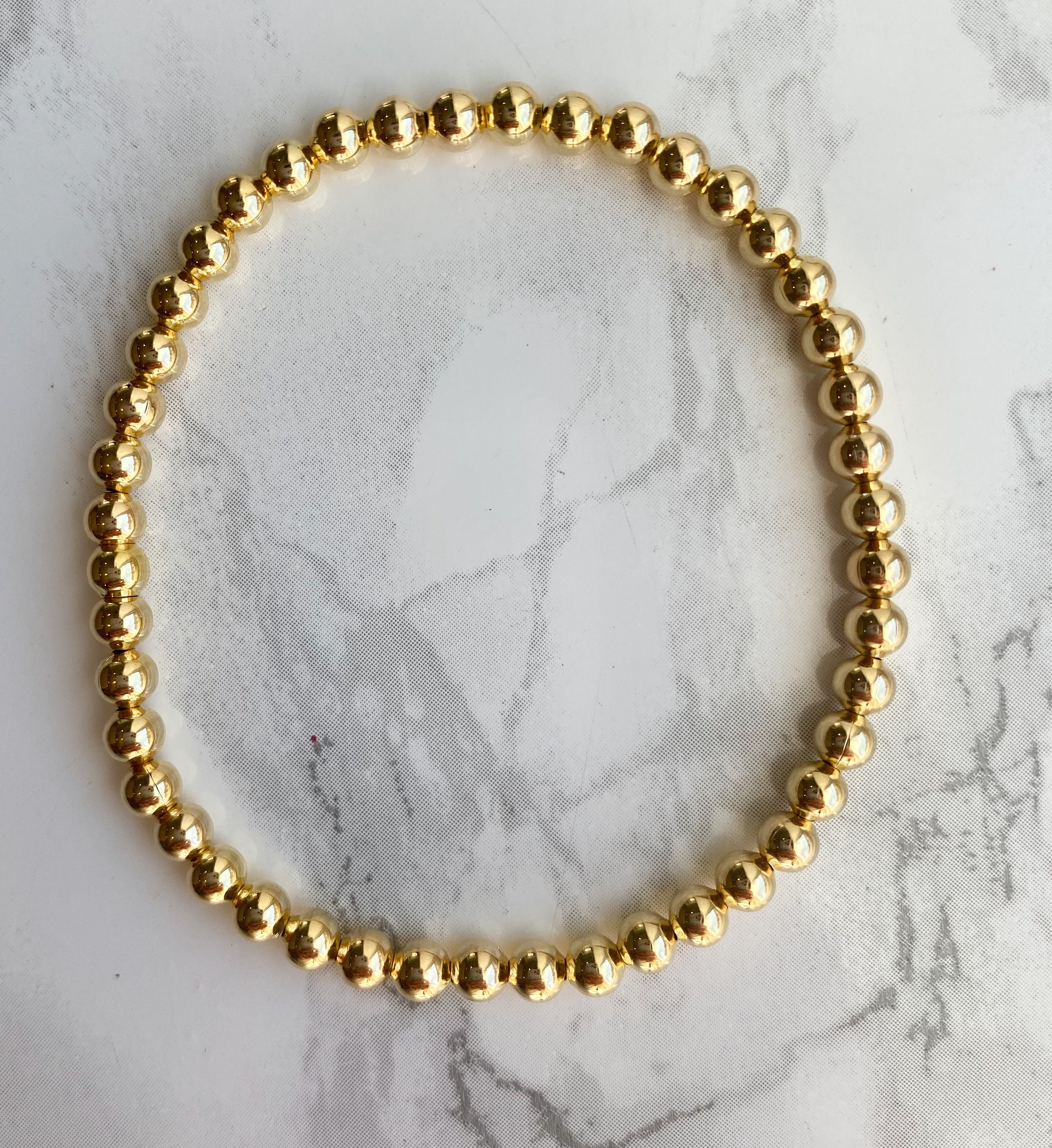 Having A Ball 4mm Gold Filled Bracelet