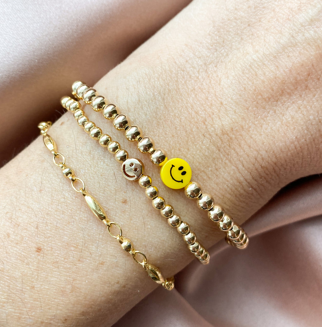 Golden Smile Bracelet