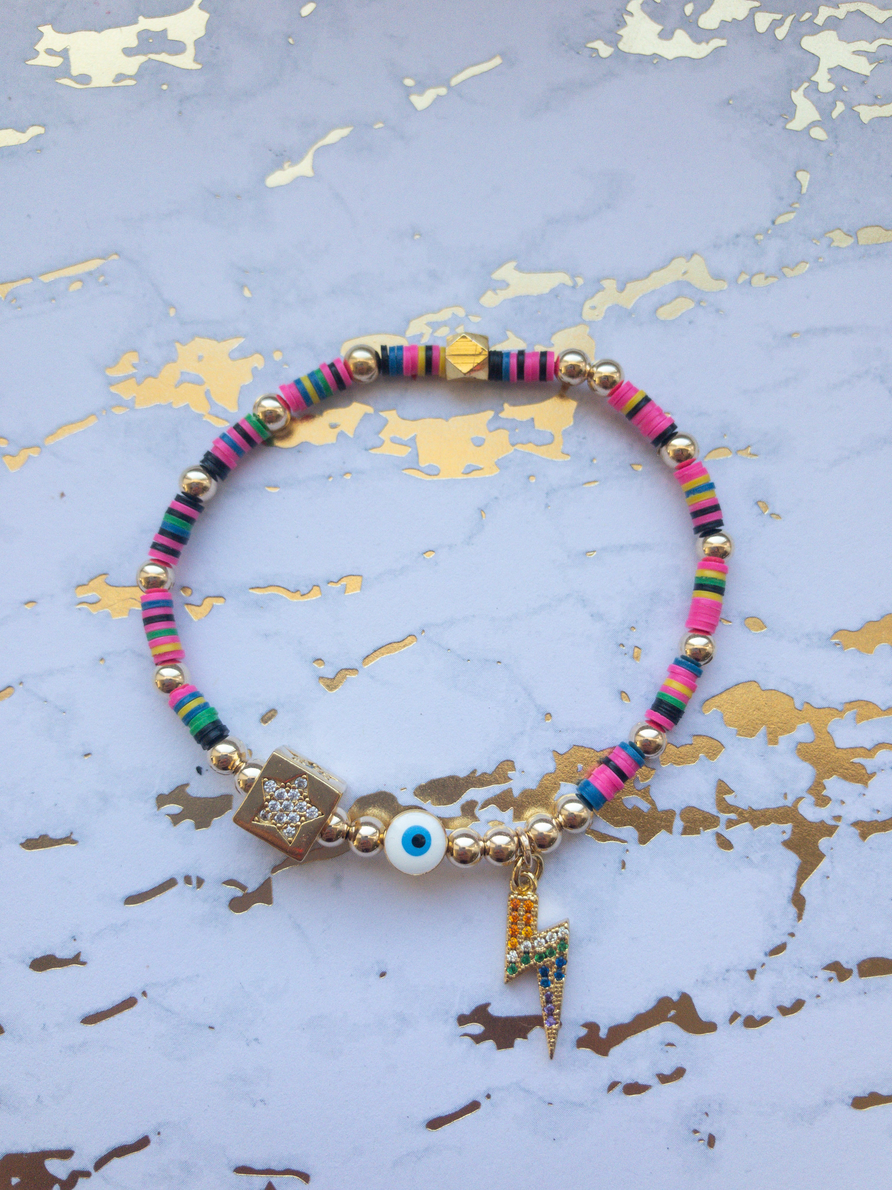 Eye of the Storm Bracelet - Rania Dabagh Jewelry