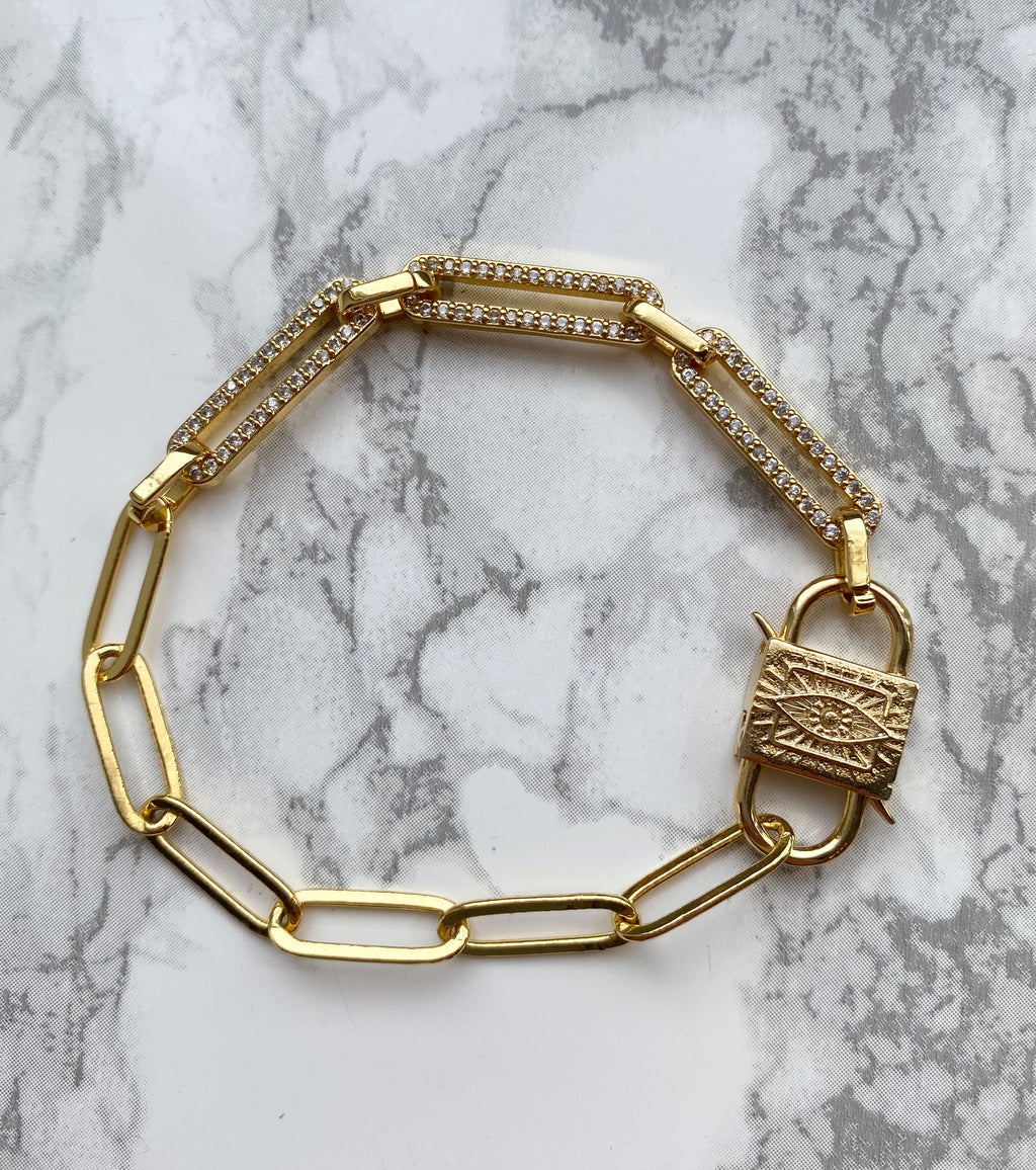 Locked Up Bracelet - Rania Dabagh Jewelry