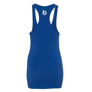 BioTRUST Racer Back Tank Shirt - Royal