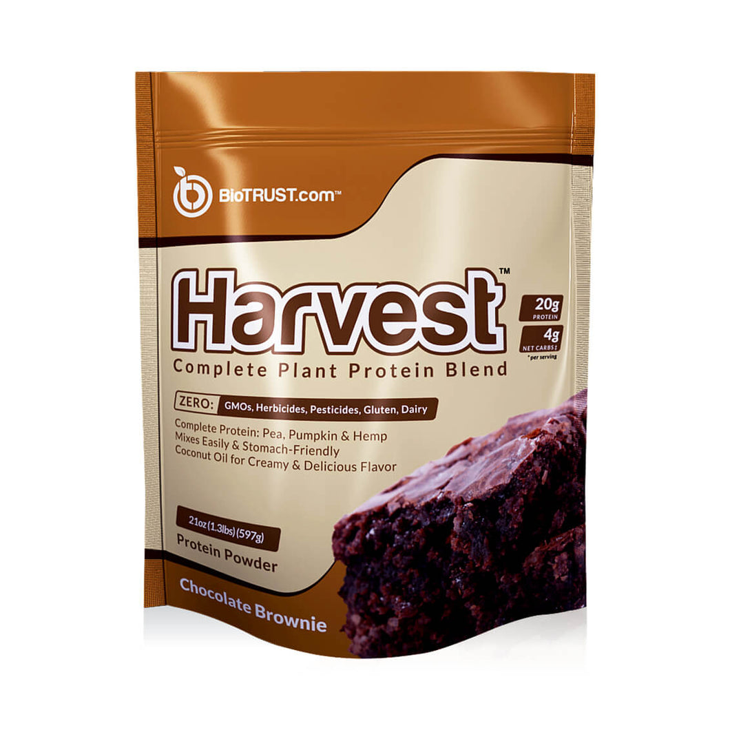 Harvest™ — Complete Vegan Plant Protein Powder Blend (2 Delicious Flavors)