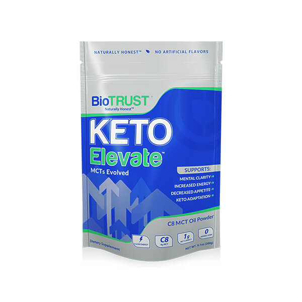 Keto Elevate™ — Pure C8 MCT Oil Powder