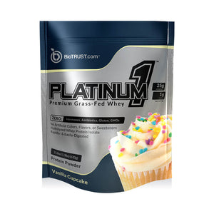 Platinum 1™ — Premium Grass-Fed Whey Protein Isolate (2 Delicious Flavors)