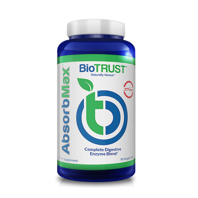 AbsorbMax™ — Full-Spectrum Digestive Enzyme Supplement