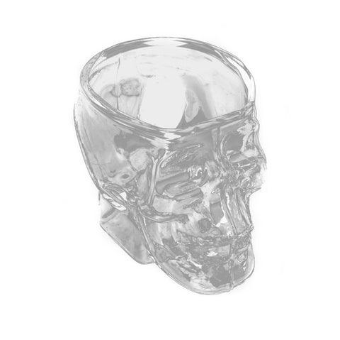 Mini Skull Head Shaped Shot Glass