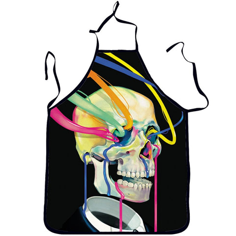 Skull Kitchen Apron