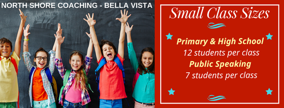 North Shore Coaching Bella Vista Opportunity Class Selective Test